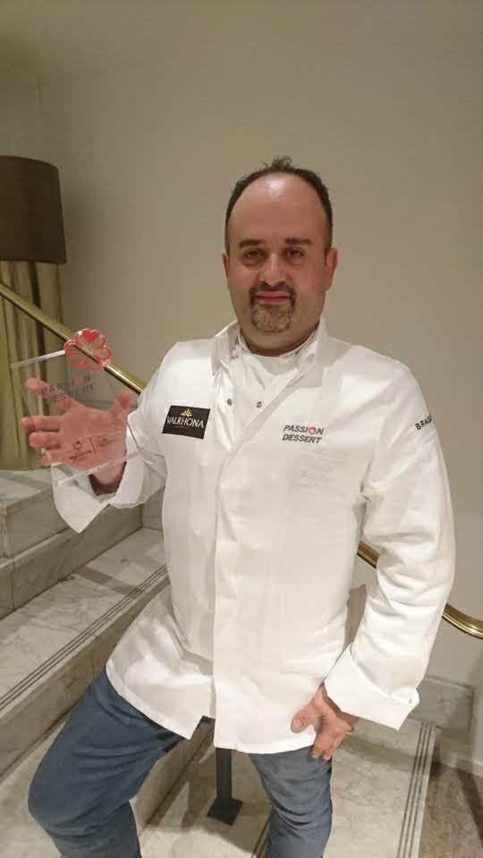 Pascal BASSO avec le prix Passion Dessert 2020