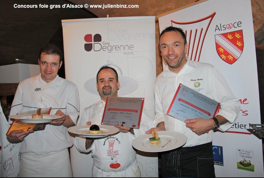 Pascal BASSO, Meilleur foie d'Alsace 2013